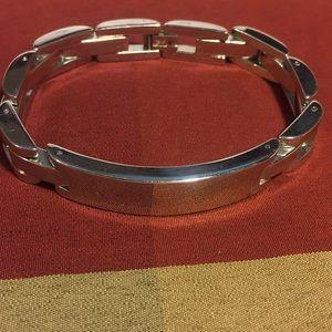 Jewelry - Stainless steel unisex signet link bracelet GUC